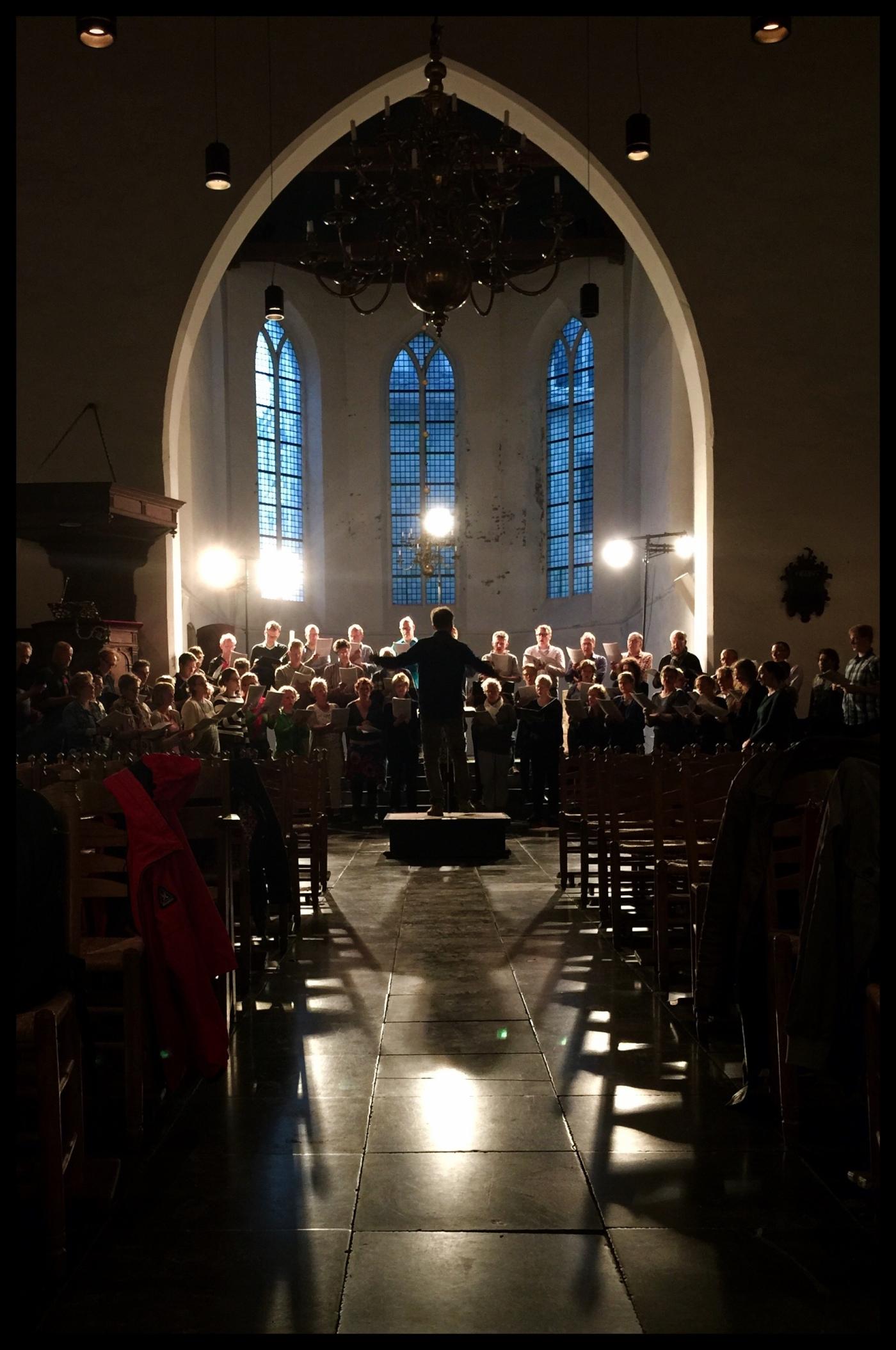 Generale repetitie Venus en Musica Vocale Geertekerk Utrecht 02062015