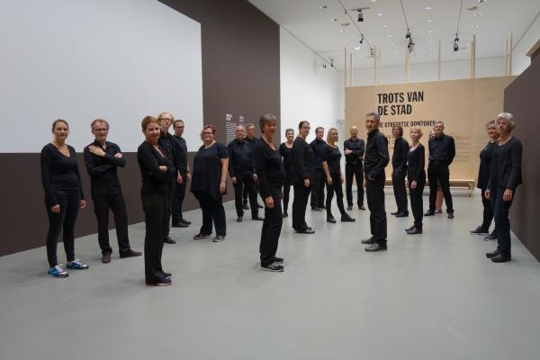 Optreden in het Centraal Museum, bij de expositie over de Utrechts Dom.